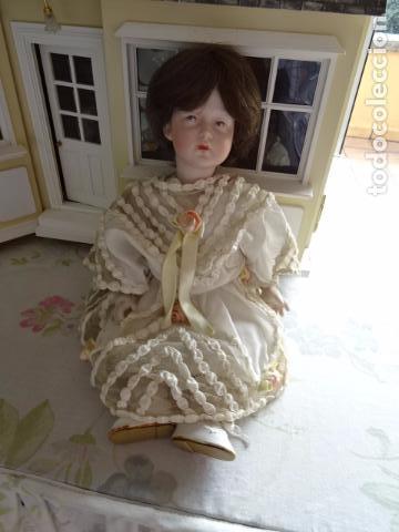 Muñecas Porcelana: MUÑECA DE PORCELANA DE NOMBRE FAYE - SIMON & HALBING S & H 150 - REPRODUCCIÓN - Foto 12 - 83283864