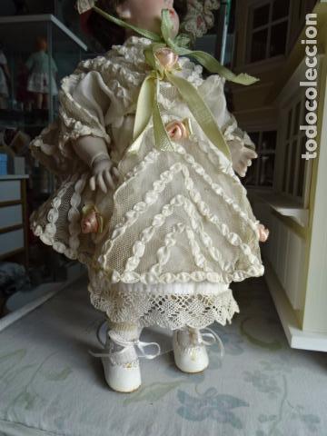 Muñecas Porcelana: MUÑECA DE PORCELANA DE NOMBRE FAYE - SIMON & HALBING S & H 150 - REPRODUCCIÓN - Foto 17 - 83283864