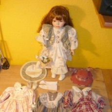Muñecas Porcelana: MUÑECA DE PORCELANA. Lote 83507064