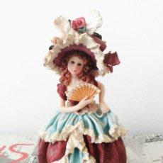 Muñecas Porcelana: MUÑECA DE PORCELANA DECORACIÓN. Lote 83961159