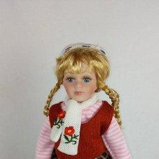 Muñecas Porcelana: MUÑECA CERÁMICA. RETRO. Lote 84971680