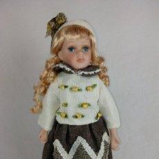 Muñecas Porcelana: MUÑECA CERÁMICA. RETRO. Lote 84972184
