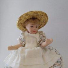 Muñecas Porcelana: MUÑECA DE COLECCIÓN PORCELANA- 15 CM.. Lote 85979108