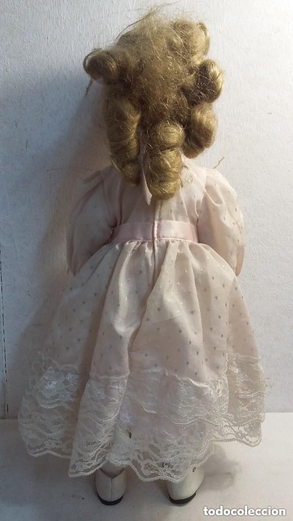 Muñecas Porcelana: grande muñeca de porcelana tela y alambre ojos de cristal - Foto 2 - 86206448