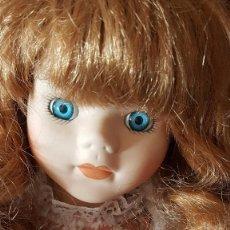 Muñecas Porcelana: MUÑECA DE PORCELANA DE 40 CM. PELIRROJA, PRECIOSA.. Lote 89468848