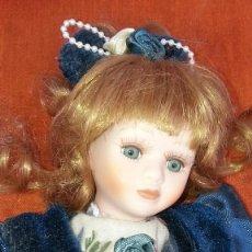 Muñecas Porcelana: MUÑECA MUY ANTIGUA DE PORCELANA. Lote 89518776