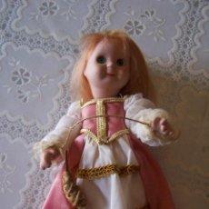 Muñecas Porcelana: MUÑECA GOOGLY DE PORCELANA, AURORA, DE PLANETA DE AGOSTINI. 20 CMS. DE ALTURA. Lote 89630824