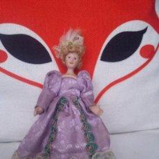 Muñecas Porcelana: PEQUEÑA DAMITA PARA CASA DE MUÑECAS. Lote 90797240