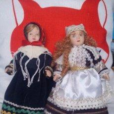 Muñecas Porcelana: DOS MUÑECAS DEL MUNDO. Lote 90802350