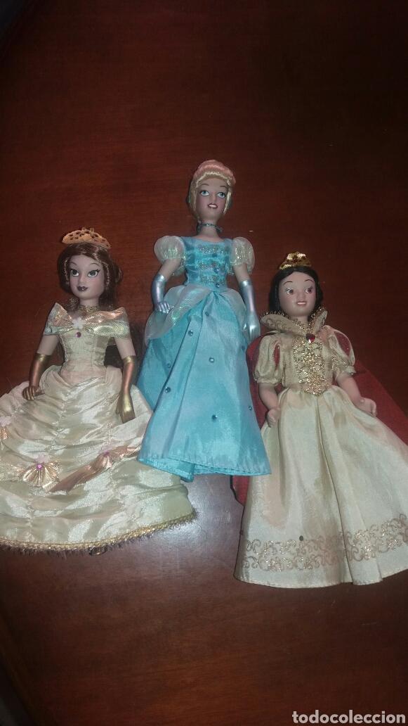 LOTE DE MUÑECAS DE PORCELANA PRINCESAS DISNEY (Juguetes - Muñeca Extranjera Moderna - Porcelana)
