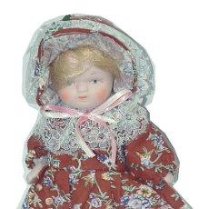 Muñecas Porcelana: MUÑECA PORCELANA 19 CM. Lote 91917595
