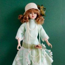 Muñecas Porcelana: MUÑECA ANTIGUA DE PORCELANA. FRANCESA. BELLE EPOQUE. 45CM.. Lote 81059600