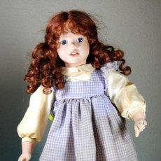 Muñecas Porcelana: MUÑECA DE PORCELANA REALIZADA CON COMPONENTES DE LA FIRMA GLOREX.. Lote 93786135