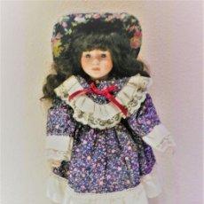 Muñecas Porcelana: PRECIOSA MUÑECA DE PORCELANA INGLESA, NIÑA, EN BUEN ESTADO. Lote 93912640
