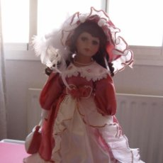 Muñecas Porcelana: MUÑECA PORCELANA (FRANCIA). ORIGINAL ¡COLECCIONISTA!. Lote 94142355