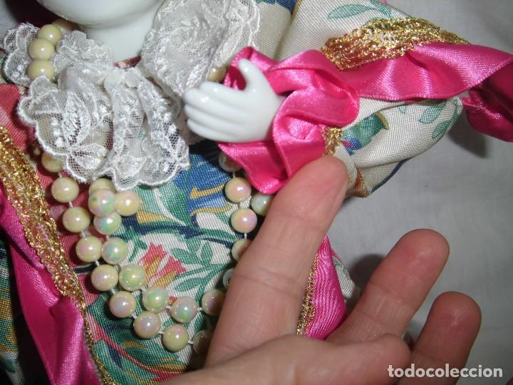 Muñecas Porcelana: BONITO PIERROT DE PORCELANA Y RELLENO MARCADO EN EL CUELLO GELY BOBES - Foto 9 - 94337714