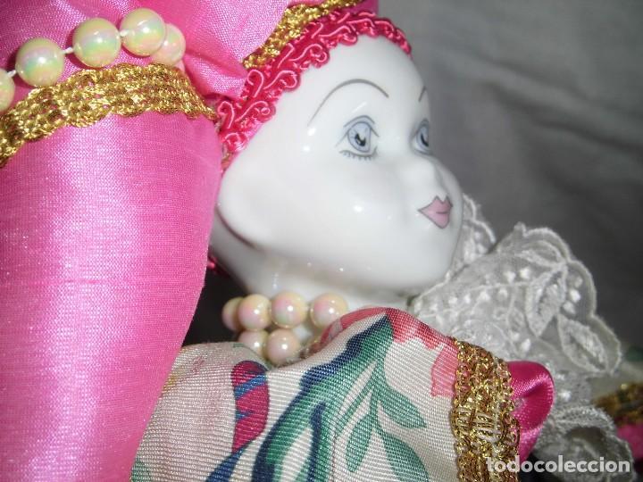 Muñecas Porcelana: BONITO PIERROT DE PORCELANA Y RELLENO MARCADO EN EL CUELLO GELY BOBES - Foto 21 - 94337714