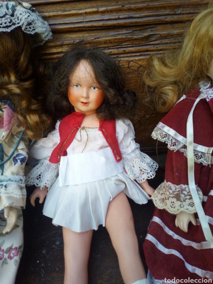 Muñecas Porcelana: Tres muñecas de los años 60. - Foto 2 - 95692732