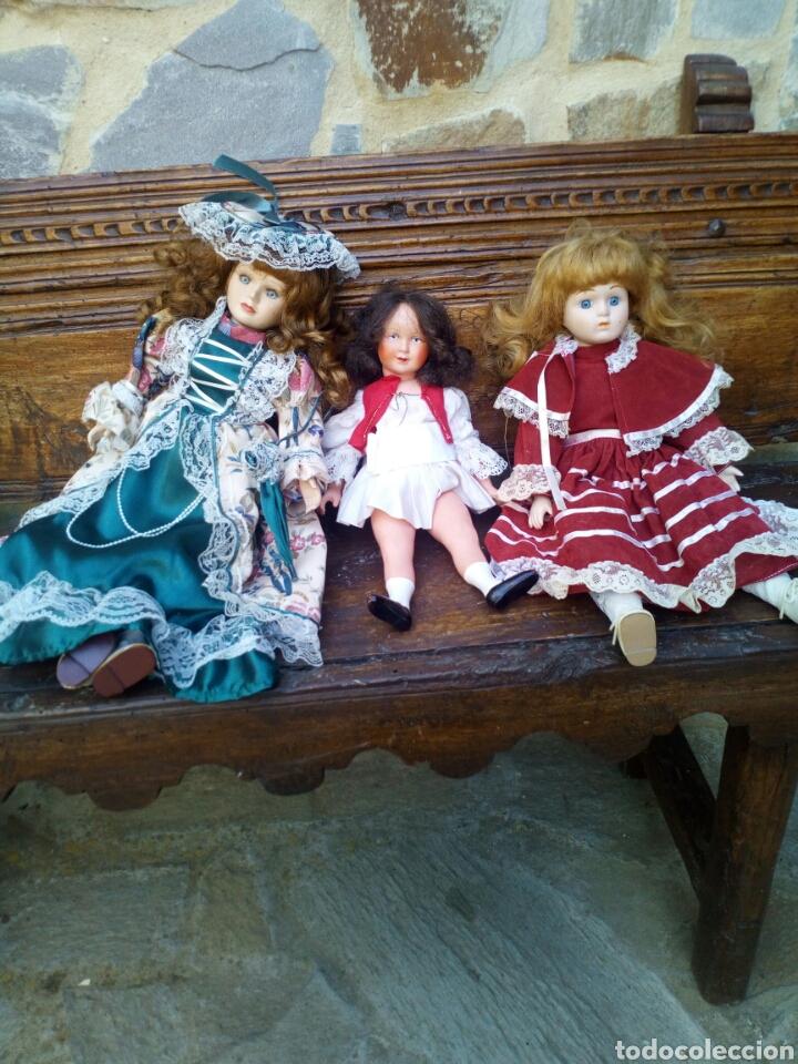 Muñecas Porcelana: Tres muñecas de los años 60. - Foto 3 - 95692732