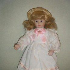 Muñecas Porcelana: MUÑECA DE PORCELANA DE COLECCIÓN ALBERON DOLLS LONDON. Lote 96114575