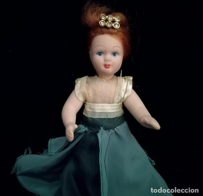 Muñecas Porcelana: Antigua muñeca de porcelana (todo el cuerpo de porcelana) - Foto 4 - 96213847