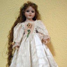Muñecas Porcelana: MUÑECA DE PORCELANA. Lote 97106143