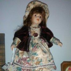 Muñecas Porcelana: BONITA MUÑECA PORCELANA. Lote 97231027