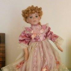 Muñecas Porcelana: MUÑECA PORCELANA OJOS CRISTAL. Lote 97354188