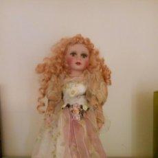 Muñecas Porcelana: MUÑECA PORCELANA OJOS CRISTAL. Lote 97354560