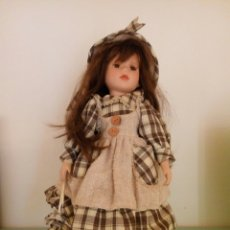 Muñecas Porcelana: MUÑECA PORCELANA OJOS CRISTAL. Lote 97354900