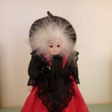 Muñecas Porcelana: MUÑECA BRUJITA PORCELANA. Lote 97357203