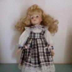 Muñecas Porcelana: MUÑECA PORCELANA OJOS CRISTAL SYMPHONY JULIE. Lote 97370402