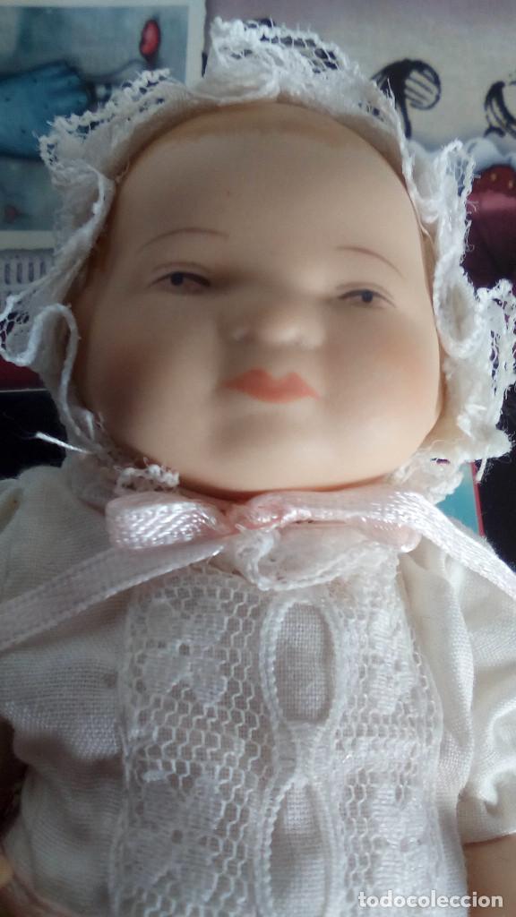 Muñecas Porcelana: muñeco muñeca bebe porcelana biscuit con faldon o traje bautizo - Foto 2 - 97453607