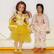 Muñecas Porcelana: PERSONAJES WALT DISNEY DE PORCELANA. Lote 97536343