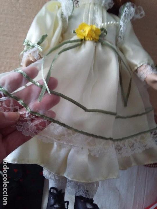 Muñecas Porcelana: Guapa pelirroja de ojos verdes - Foto 2 - 97936271