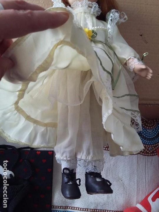 Muñecas Porcelana: Guapa pelirroja de ojos verdes - Foto 3 - 97936271