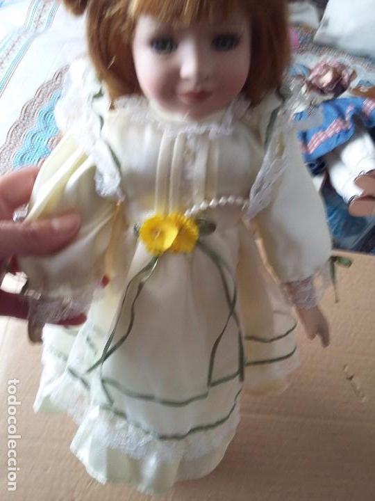 Muñecas Porcelana: Guapa pelirroja de ojos verdes - Foto 5 - 97936271