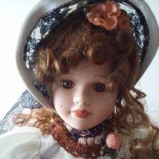 Muñecas Porcelana: ESPECTACULAR DAMA DE PORCELANA. Lote 97961603