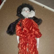 Muñecas Porcelana: ANTIGUA MUÑECA GEISHA CON LA CARA CREO QUE EN PORCELANA MUY BONITA. Lote 99537094