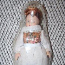 Muñecas Porcelana: SUIZA *** MUÑECAS DEL MUNDO DE PORCELANA (1986) *** ROPA TRADICIONAL *** NUEVA ***. Lote 99631539