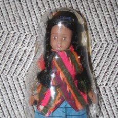 Muñecas Porcelana: BOLIVIA *** MUÑECAS DEL MUNDO DE PORCELANA (1986) *** ROPA TRADICIONAL *** NUEVA ***. Lote 99631775