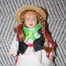 Muñecas Porcelana: ALEMANIA *** MUÑECAS DEL MUNDO DE PORCELANA (1986) *** ROPA TRADICIONAL *** NUEVA ***. Lote 99649119