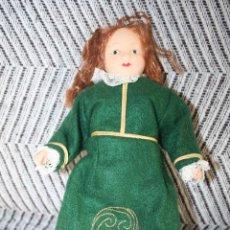 Muñecas Porcelana: IRLANDA *** MUÑECAS DEL MUNDO DE PORCELANA (1986) *** ROPA TRADICIONAL *** NUEVA ***. Lote 99649583