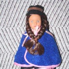 Muñecas Porcelana: COLOMBIA *** MUÑECAS DEL MUNDO DE PORCELANA (1986) *** ROPA TRADICIONAL *** NUEVA *** . Lote 99868671