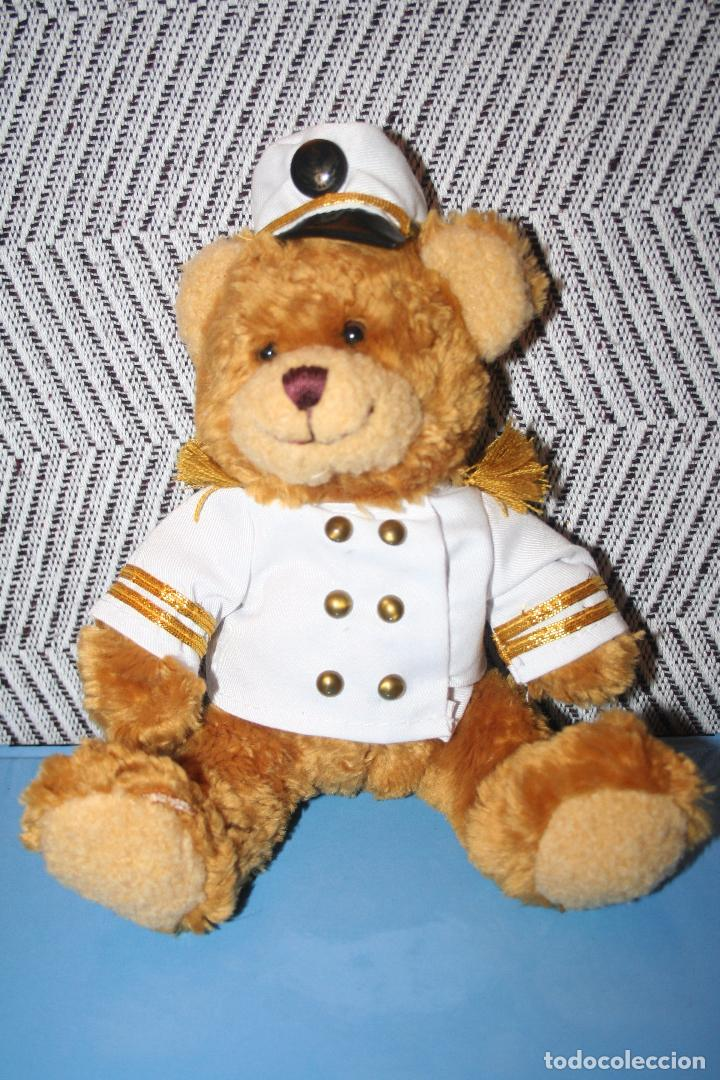 OSO MARINERO *** THE TEDDY BEAR COLLECTION *** PELUCHE ROPA ORIGINAL *** ALTURA 22 CMS *** (Juguetes - Muñeca Extranjera Moderna - Porcelana)