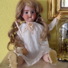 Muñecas Porcelana: PRECIOSA MUÑECA ANTIGUA DE PORCELANA ARMAND MARSEILLE 50CM. Lote 102005939