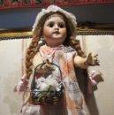 Muñecas Porcelana: PRECIOSA MUÑECA ANTIGUA DE PORCELANA SFBJ PARIS 4. Lote 102007691