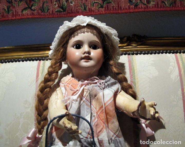 Muñecas Porcelana: PRECIOSA MUÑECA ANTIGUA DE PORCELANA SFBJ PARIS 4 - Foto 2 - 102007691