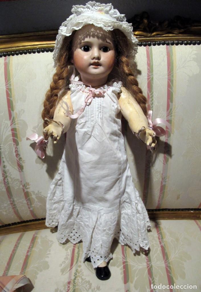Muñecas Porcelana: PRECIOSA MUÑECA ANTIGUA DE PORCELANA SFBJ PARIS 4 - Foto 7 - 102007691