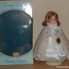 Muñecas Porcelana: MUÑECA DE PORCELANA FINA NUMERADA CINDERELLA Nº 8302 AÑO 1984 MADE IN USA. Lote 102168387